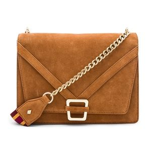 Sam Edelman Bags - NEW Sam Edelman | Madeline Accordion Suede Purse
